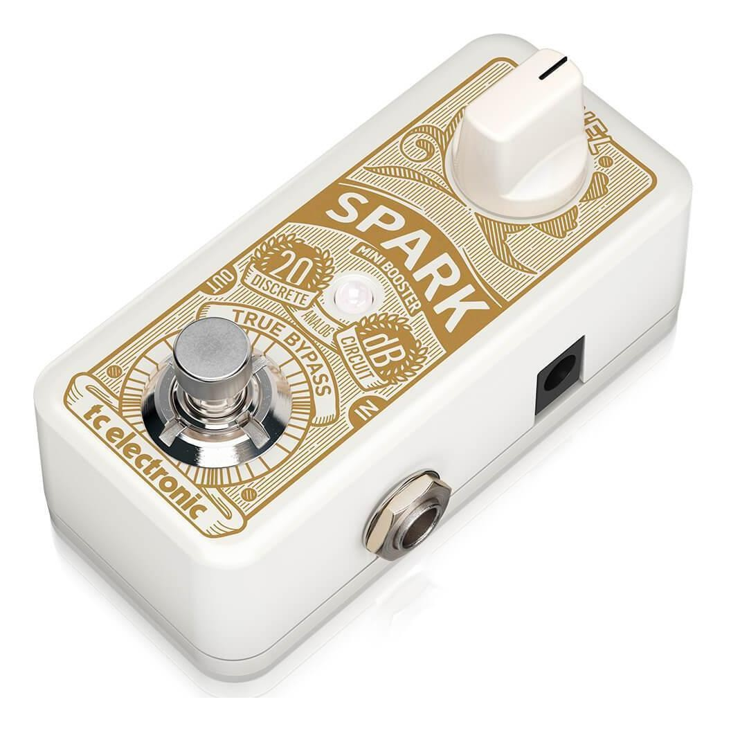 Pedal Spark Mini Booster TC Electronic Para Guitarra