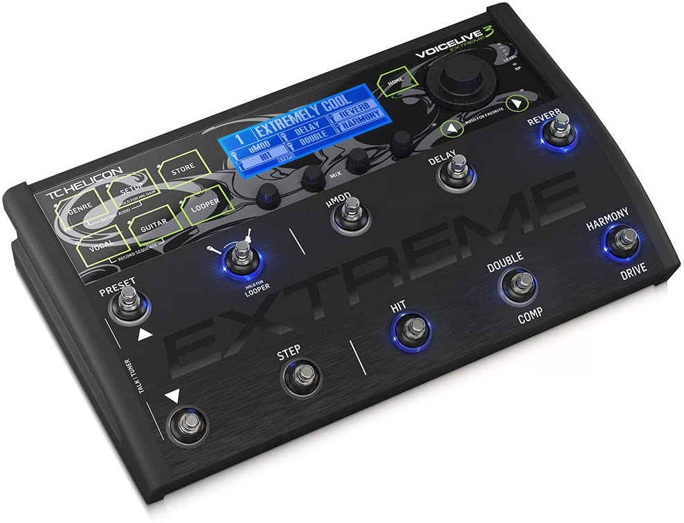 Pedal Voicelive 3 Extreme TC Helicon