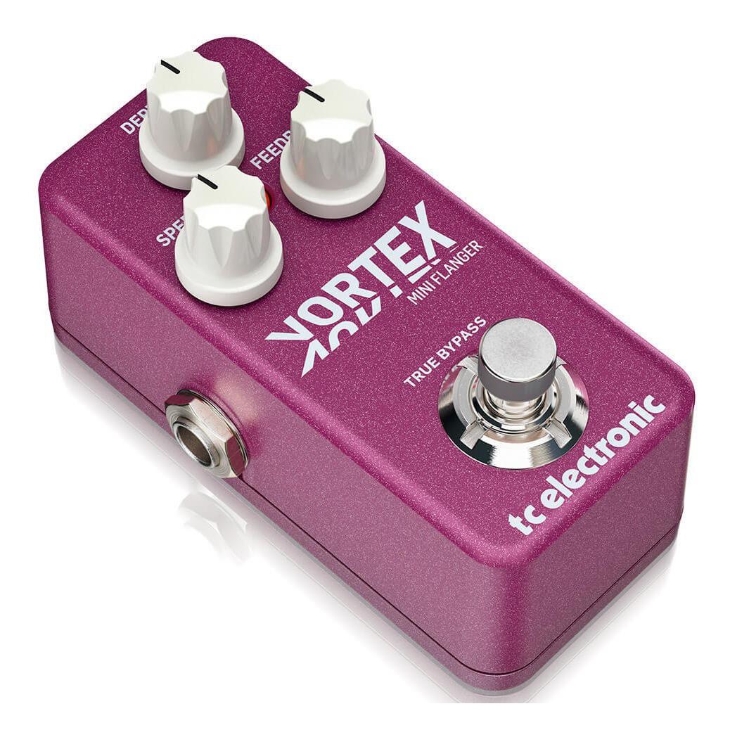 Pedal Vortex Mini Flanger TC Electronic Para Guitarra