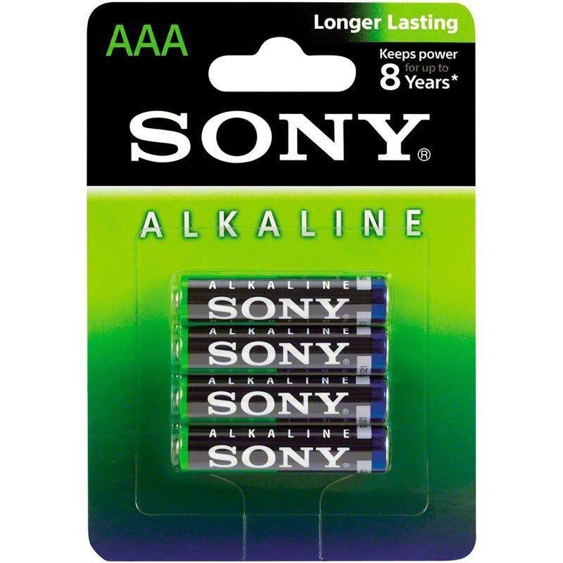 Pilhas Alcalina Sony Aaa AM4L-B4D - Caixa Fechada Com 48 Pilhas