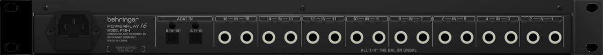 PowerPlay P16-I Behringer Bivolt