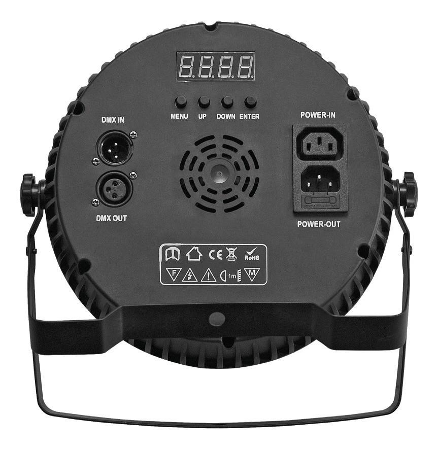 Refletor Propar Led Slim 54 RGBW 3W - PLS
