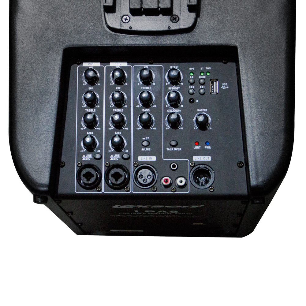 Sistema de Som Portátil Vertical LPA8 Lexsen