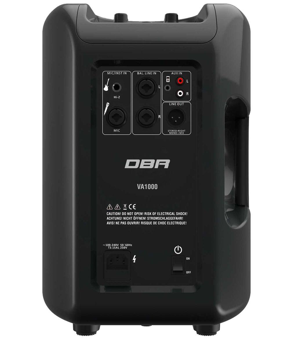 Sistema de Som Profissional Vertical Array DBR - VA1000 500Wrms