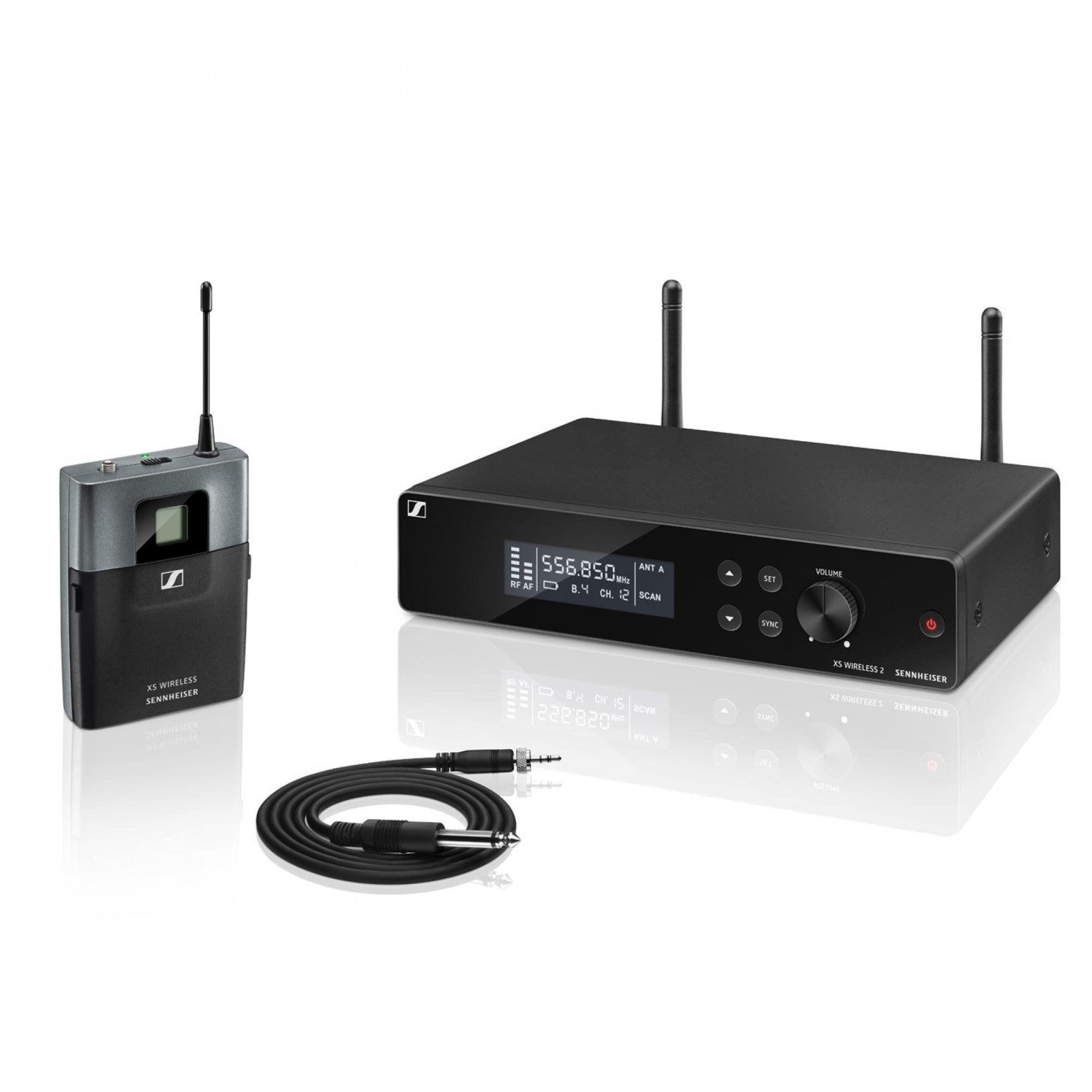 Sistema sem Fio para Instrumentos XSW2-CL1-A Sennheiser