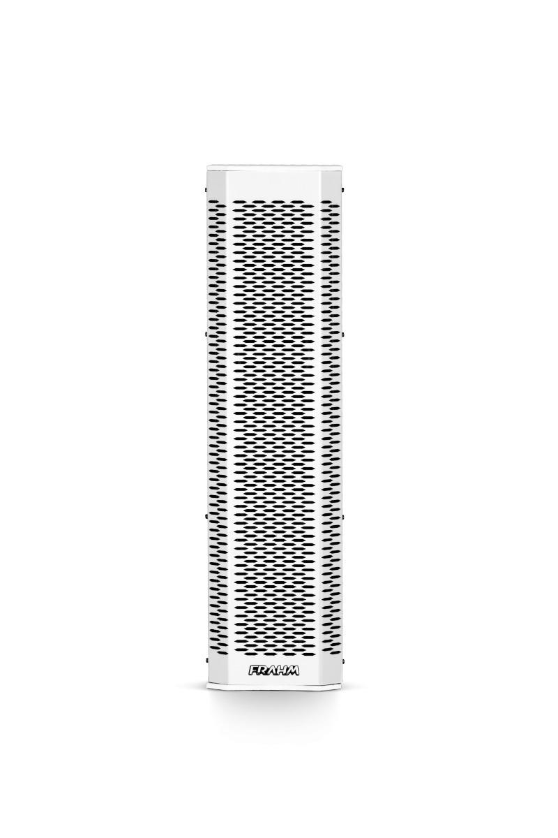 Sistema Vertical Array Ativo Frahm GRT 12 App - 500W RMS Branca