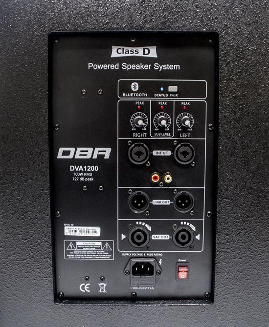 Sistema de Som Profissional Vertical Array DBR  - DVA1200  700Wrms