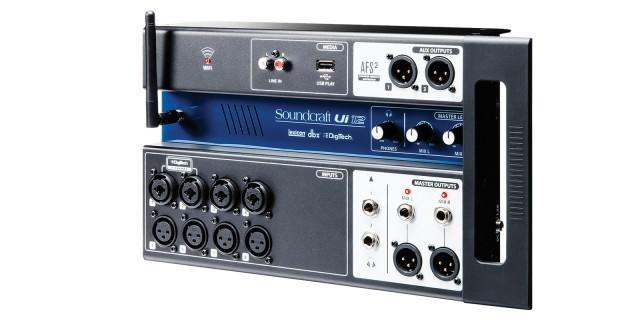 Mesa de Som Digital Soundcraft UI-12