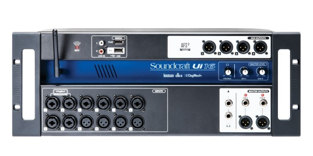 Mesa de Som Digital Soundcraft UI-16