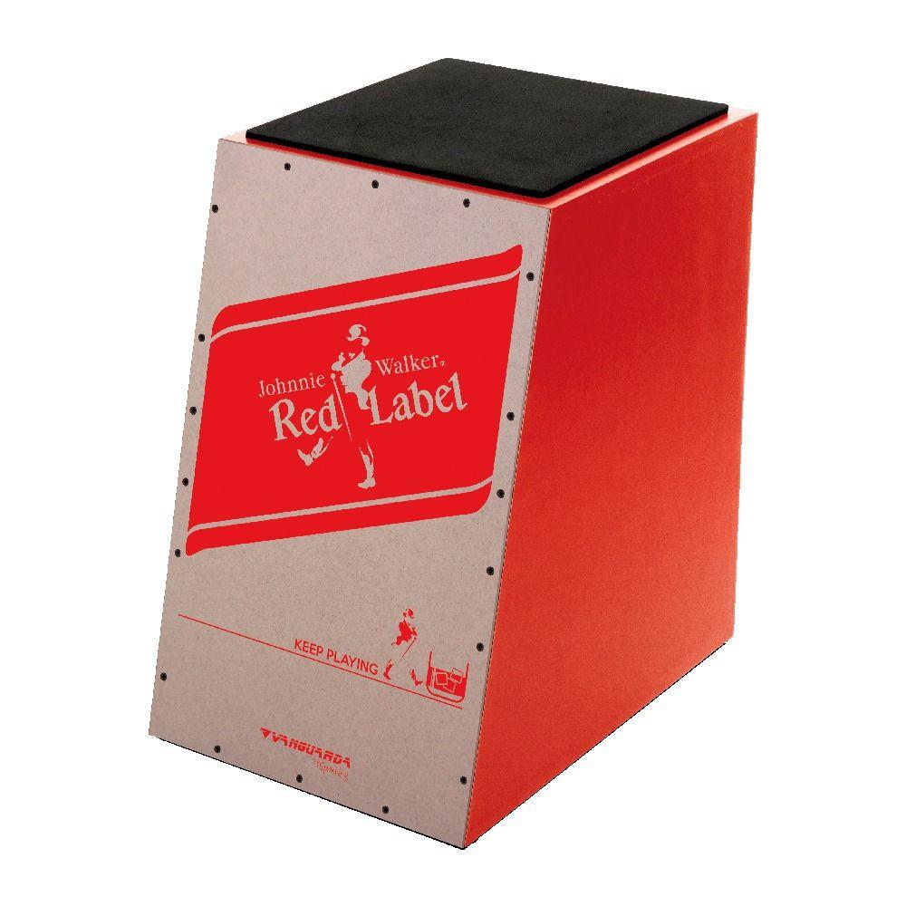 Cajon Spanking Vanguarda Red Label Acústico