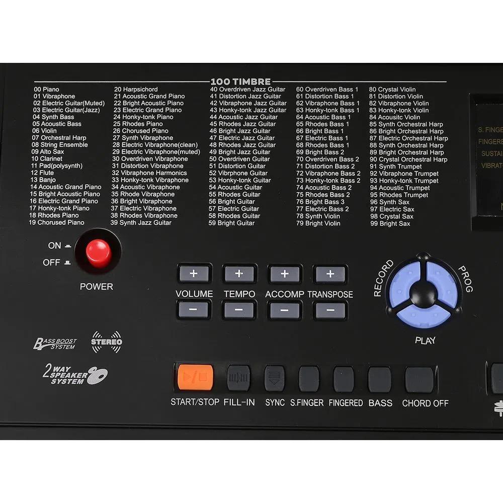 Teclado Musical KP300 Keypower
