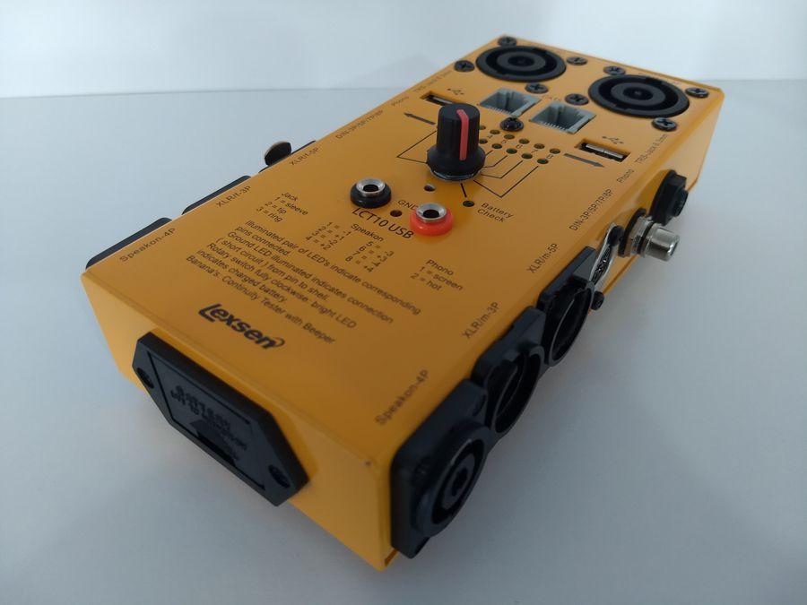 Testador De Cabos LCT-10 USB Lexsen