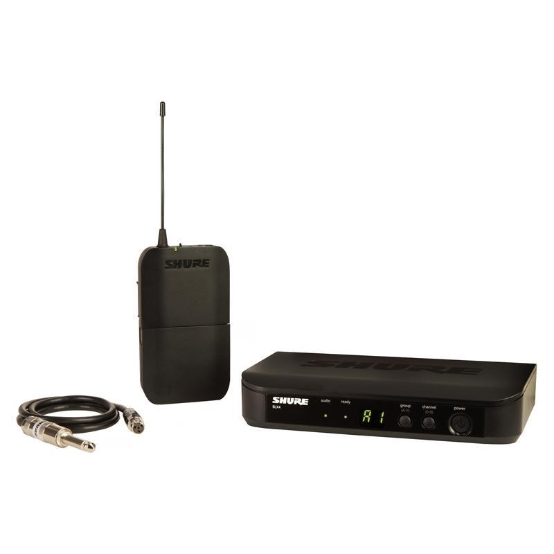 Transmissor Sem Fio Shure BLX14BR-J10 Para Instrumentos