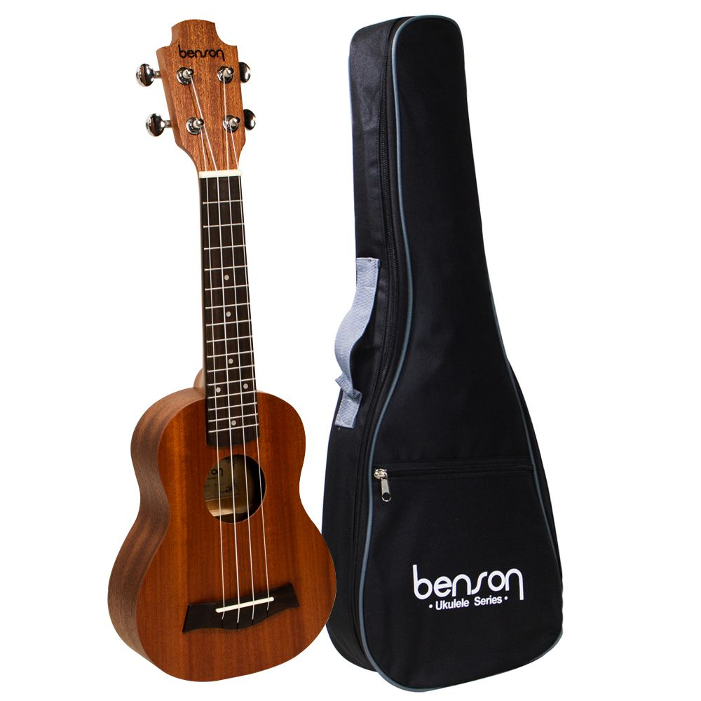 Ukulele Sapele 21 Com Bag UB-21-B - Benson