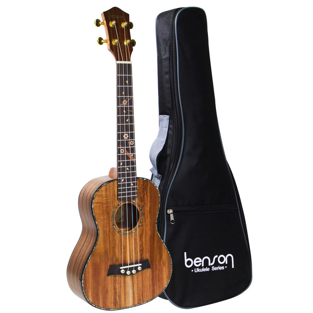 Ukulele Solid Koa UB-506SE Com Bag - Benson
