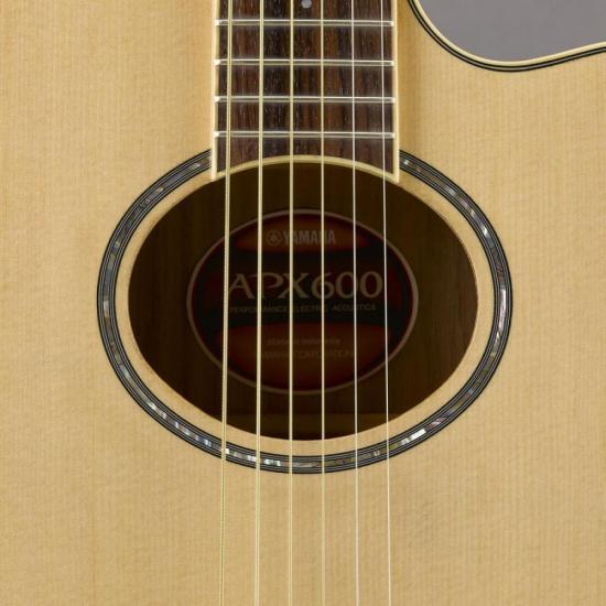 Violão Eletroacústico Aço APX600 Natural Yamaha