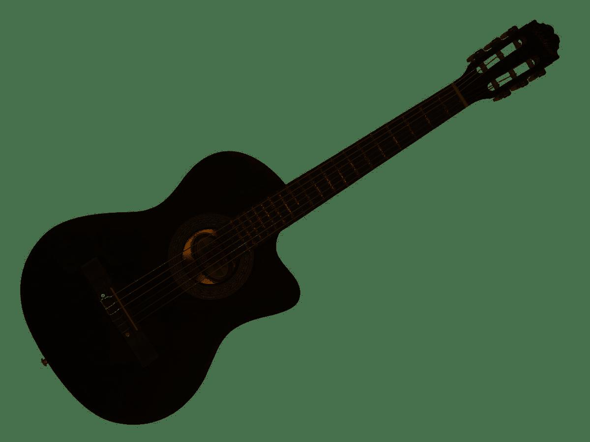 Violão para Iniciante Elétrico Waldman Nylon PPCE-1 BK