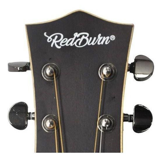 Violão Redburn Rb-100 Eletroacústico Folk Captação Fishmann - 2 Ger