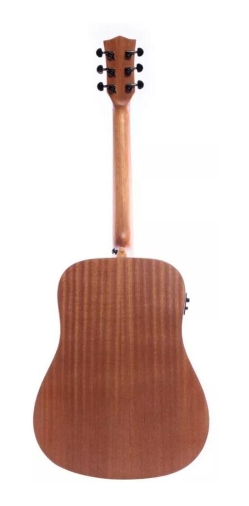 Violão Redburn Rb-200 Eletroacústico Folk Com Hardcase HC41