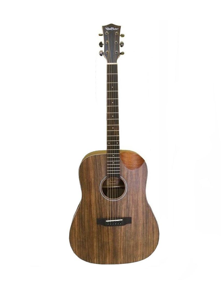 Violão Redburn Rb-300 Walnut Folk Com Hardcase HC41