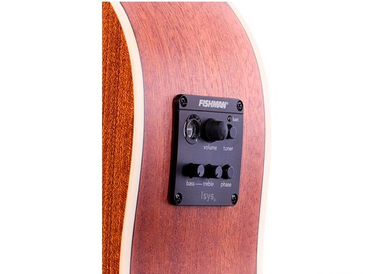 Violão RedBurn Rbc-01 Folk Mogno Eletroacústico