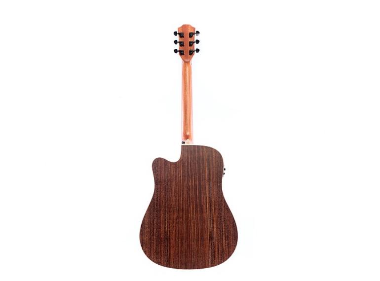 Violão RedBurn Rbc-02 Folk Natural Spruce Eletroacústico
