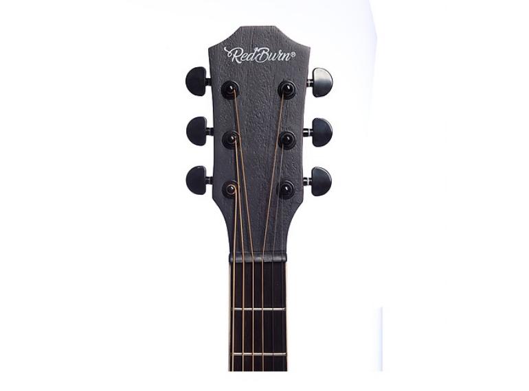 Violão RedBurn Rbc-03 Folk Zebrano Spruce Eletroacústico