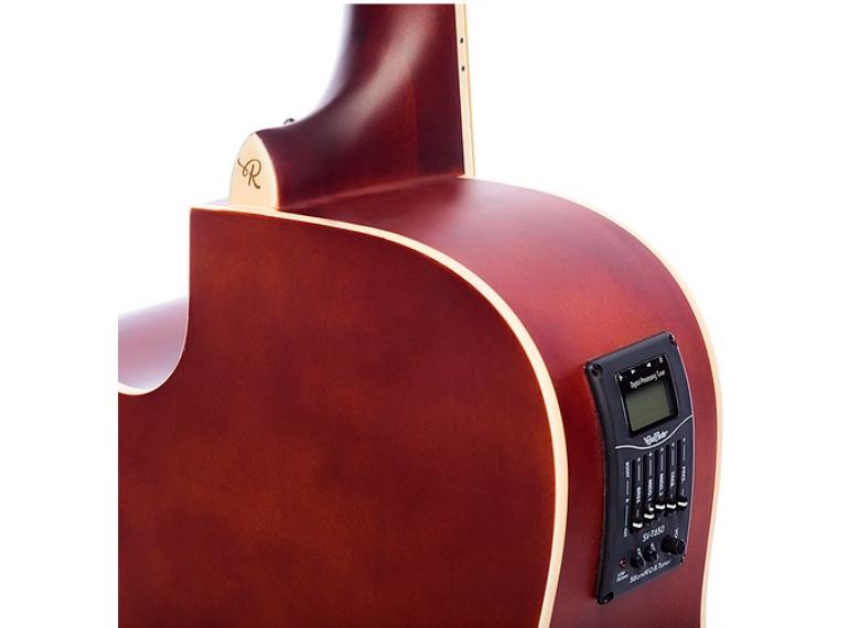 Violão RedBurn Rbf-02 Sapele Eletroacústico
