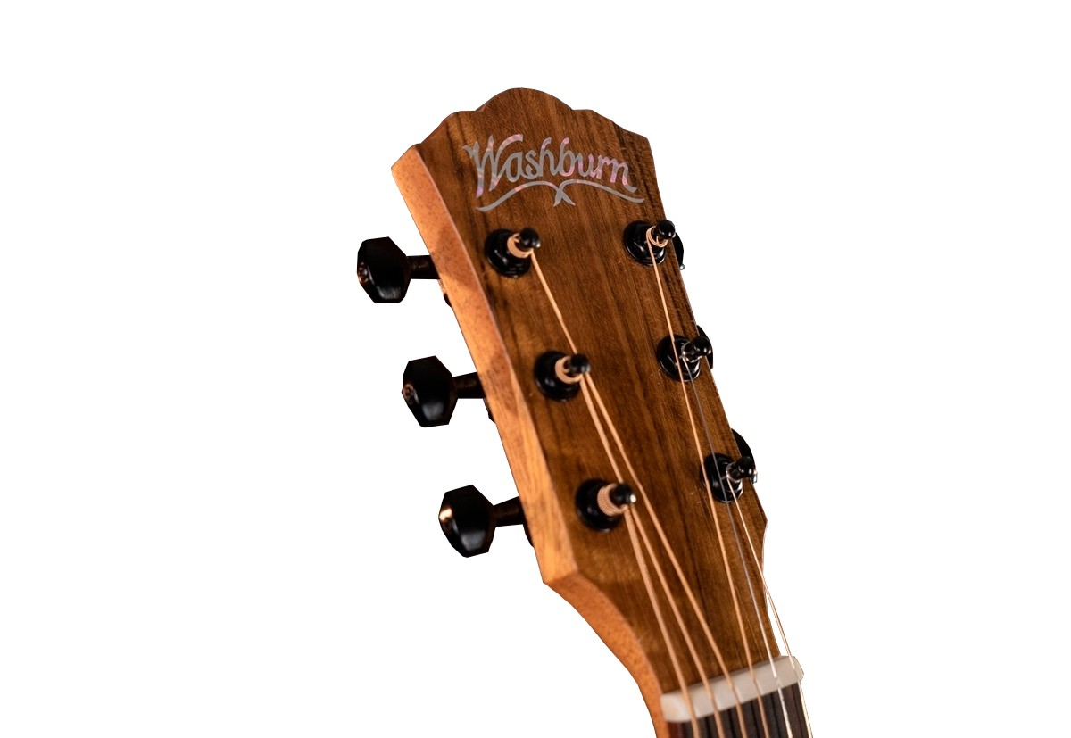 Violão Washburn Acústico Bella Tono Studio 9 Charchoal BTS9CH-D-U