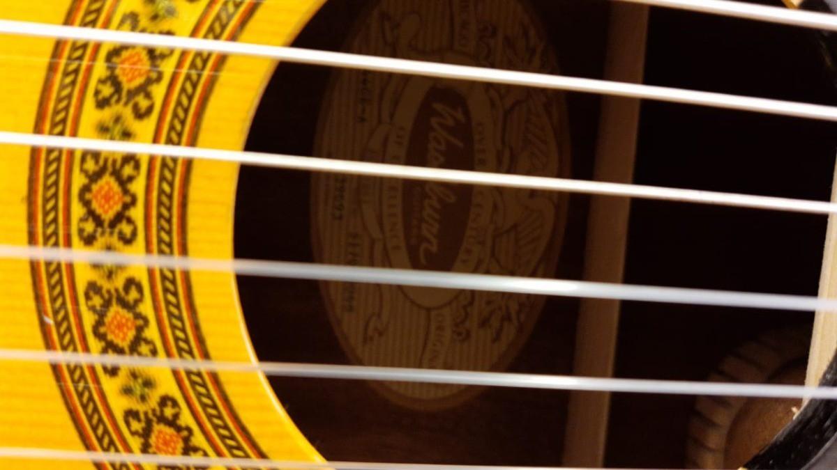 Violão Washburn Eletroacústico de Nylon C44CE