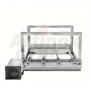 Churrasqueira Elétrica Artinox Griragrill Inox 4 Espetos