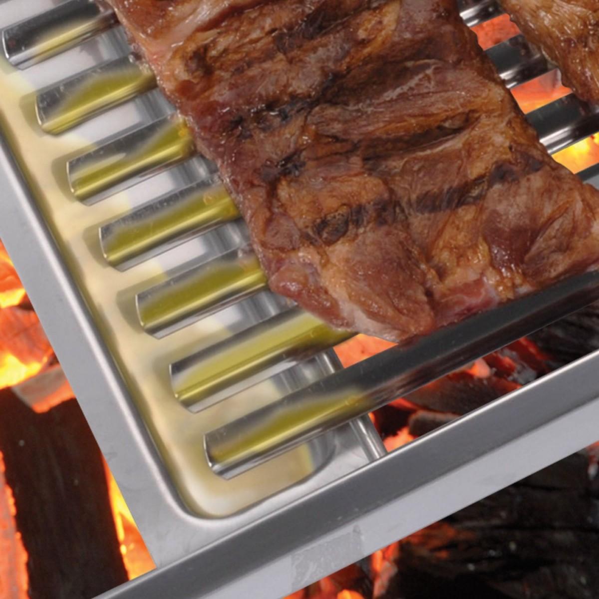 Grelha para churrasqueira argentina - ARTINOXGRILL