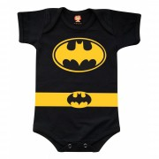 Body de Bebê ou Camiseta Batman Fantasia Baby