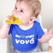 Body de Bebê ou Camiseta Eu Amo Meu Vovô