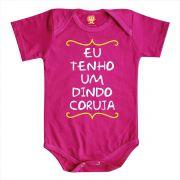 Body de Bebê ou Camiseta Eu Tenho Um Dindo Coruja