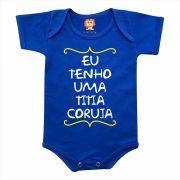 Body de Bebê ou Camiseta Eu Tenho Uma Titia Coruja