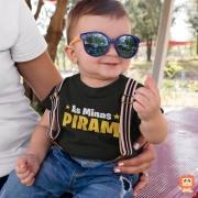 Body de Bebê Ou Camiseta Infantil As Minas Piram