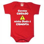 Body de Bebê ou Camiseta Minha Dinda é Ciumenta