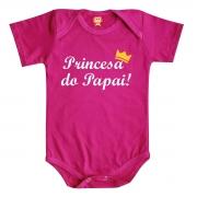 Body de Bebê ou Camiseta Princesa do Papai
