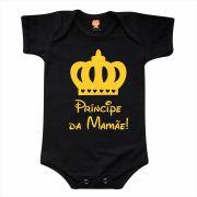Body de Bebê ou Camiseta Príncipe da Mamãe