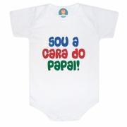 Body de Bebê ou Camiseta Sou A cara do Papai