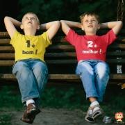 Body ou Camiseta 1 É Bom 2 É Melhor Kit Irmãos