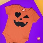 Body ou Camiseta Abóbora Halloween