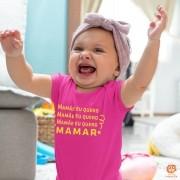 Body ou Camiseta Carnaval Mamãe Eu Quero Mamar