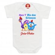 Body ou Camiseta Dia das Crianças Galinha Pintadinha
