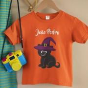Body ou Camiseta Gato Preto
