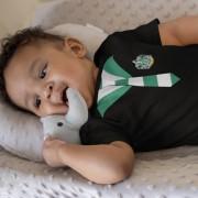 Body ou Camiseta Infantil Casas Hogwarts Sonserina