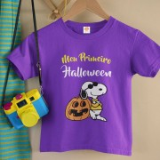 Body ou Camiseta Meu Primeiro Halloween Snoopy