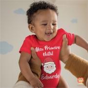 Body ou Camiseta Meu Primeiro Natal Papai Noel