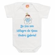 Body ou Camiseta Milagre de Deus